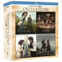Pack Outlander  Temporada 1-4 - Blu-Ray