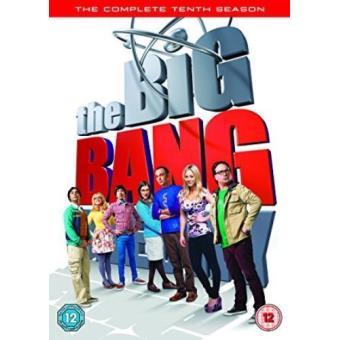 The Big Bang Theory - Temporada 10 - DVD