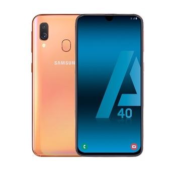 Samsung Galaxy A40 5,9'' 64GB Coral