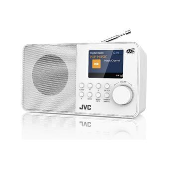 Radio despertador JVC RA-F39W-DAB Blanco