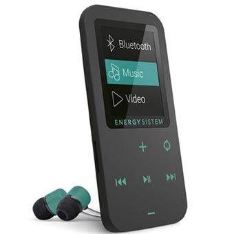 MP4 Bluetooth Energy Sistem Touch 8GB Negro/Menta