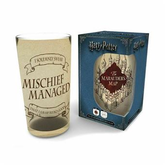 Vaso pinta Harry Potter Marauder´s Map