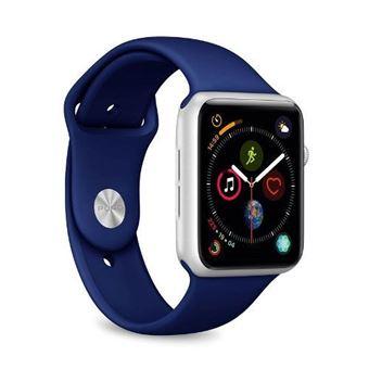 Correa deportiva Puro Icon Azul para Apple Watch 44 mm