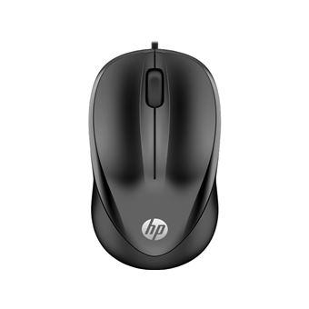 Ratón HP 1000 Wired Negro