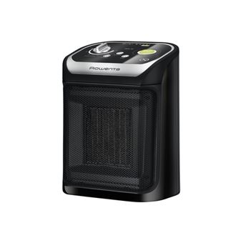 Calefactor cerámico Rowenta Mini Excel Eco Safe Negro
