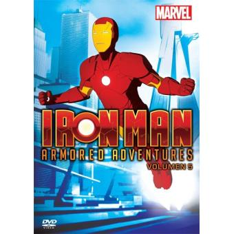 Iron Man Armored Adventures (1ª Temporada - Volumen 5) - DVD
