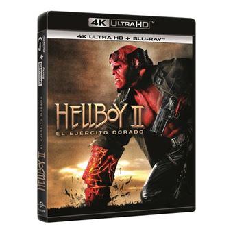 Hellboy 2 - El ejército dorado - UHD + Blu-Ray
