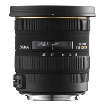 Objetivo Sigma 10-20 mm F3.5 EX DC HSM para Canon