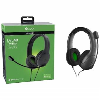 Auriculares Gaming con cable LVL40 gris Xbox One