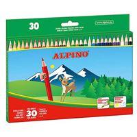 Estuche de cartón Alpino de 30 lápices de colores