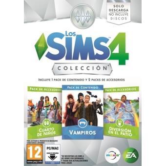 Los Sims 4 Colección Vampiros + Accesorios Cuarto de Niños y Diversión en el Patio PC