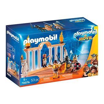 Playmobil The Movie Emperador Maximus en el Coliseo