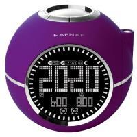 Despertador Naf Naf Clockine Púrpura