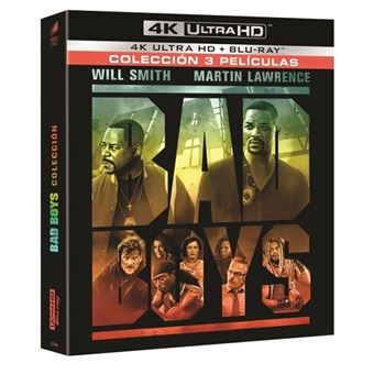 Pack Dos policías rebeldes 1-3 (Bad Boys) - UHD + Blu-ray