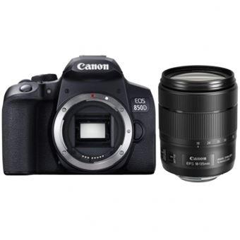 Cámara Réfex Canon EOS 850D Body Negro + EF-S 18-135mm F3.5-5.6 IS USM