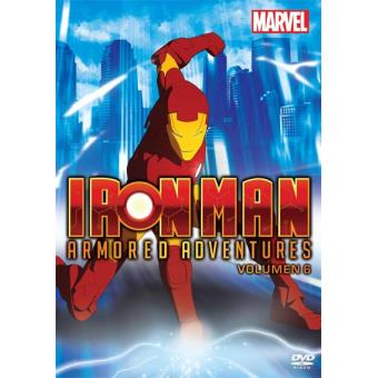 Iron Man Armored Adventures (1ª Temporada - Volumen 6) - DVD