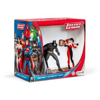 Set figuras Schleich Batman vs Harley Quinn