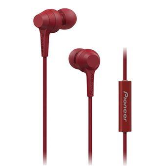 Auriculares Pioneer SE-C1T Rojo