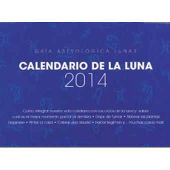 Calendario 2014 de la luna