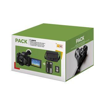 Cámara EVIL Canon EOS M50 Mark II + 15-45 mm + 55-200 mm Pack