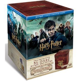 Pack Harry Potter: Saga completa - Edición coleccionista - Blu-Ray + DVD + Copias digitales