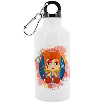 Botella de aluminio Kalidoscopio David Bowie - 500 ml