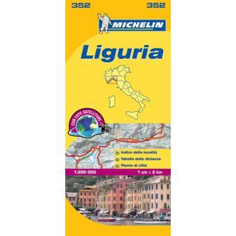 Mapa Local: Liguria