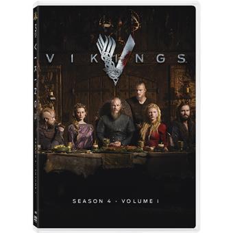 Vikingos - Temporada 4 parte 1 - DVD