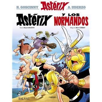 Astérix Nº 9 - Astérix y los normandos