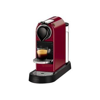 Cafetera Nespresso Krups Citiz Flow Rojo