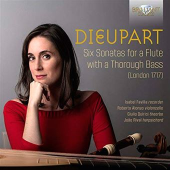 Dieupart - Six Sonatas for a Flute with a Thorough Bass