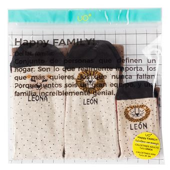 Kit Family UO Familia León - Talla 19-22