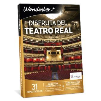 Wonderbox Disfruta del Teatro Real 2018