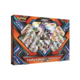 Pokémon Caja Colección Shiny Tapu Koko-GX
