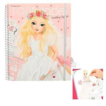 Libro para colorear Top Model Wedding Special    5% en libros | FNAC