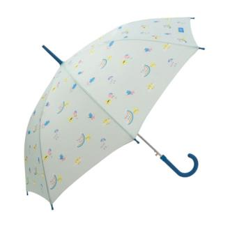 Mr Wonderful Paraguas mediano mint - Estampado Arcoíris