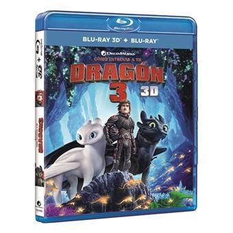 Cómo entrenar a tu dragón 3 - Blu-Ray + 3D