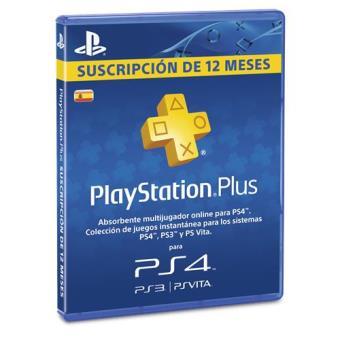 Playstation Plus Card 365 días