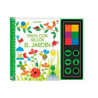 Pinta con sellos - El jardín