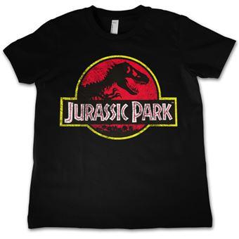 Camiseta Jurassic Park Logo - Talla XL