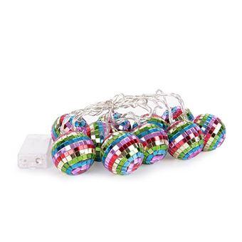 Helio Ferretti Tira de luces Rainbow Disco Ball