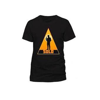 Camiseta Star Wars Han Solo Negro Talla M