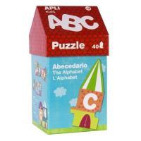 Puzzle casa ABC (40pcs.)