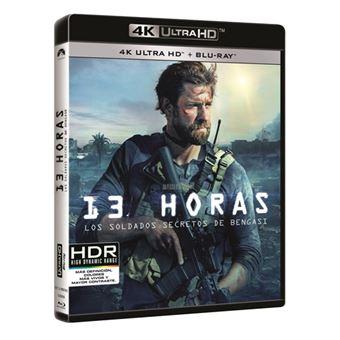 13 Horas. Los soldados secretos de Bengasi - UHD + Blu-Ray