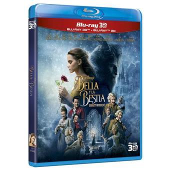 La Bella y la Bestia 2017 - Blu-Ray +3D