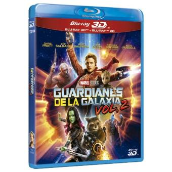 Pack Guardianes de la galaxia 2 - Blu-Ray + 3D