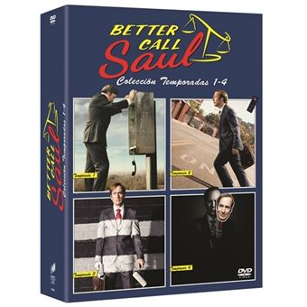 Better Call Saul  Temporada 1-4 - DVD