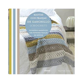 Mantas con franjas de ganchillo (crochet) - 20 diseños magníficos con patrones fáciles de repetir