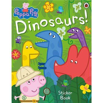 Peppa Pig - Dinosaurs! Sticker Book