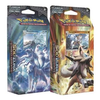 Baraja Pokémon 60 cartas SM3 Sombras Ardientes Pokemon